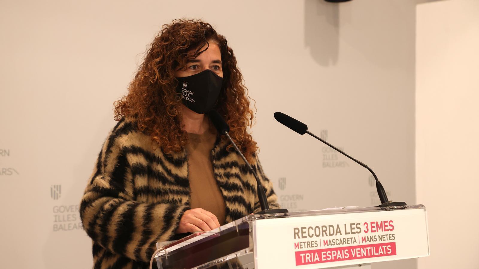 La consellera de Presidència i portaveu del Govern, Pilar Costa