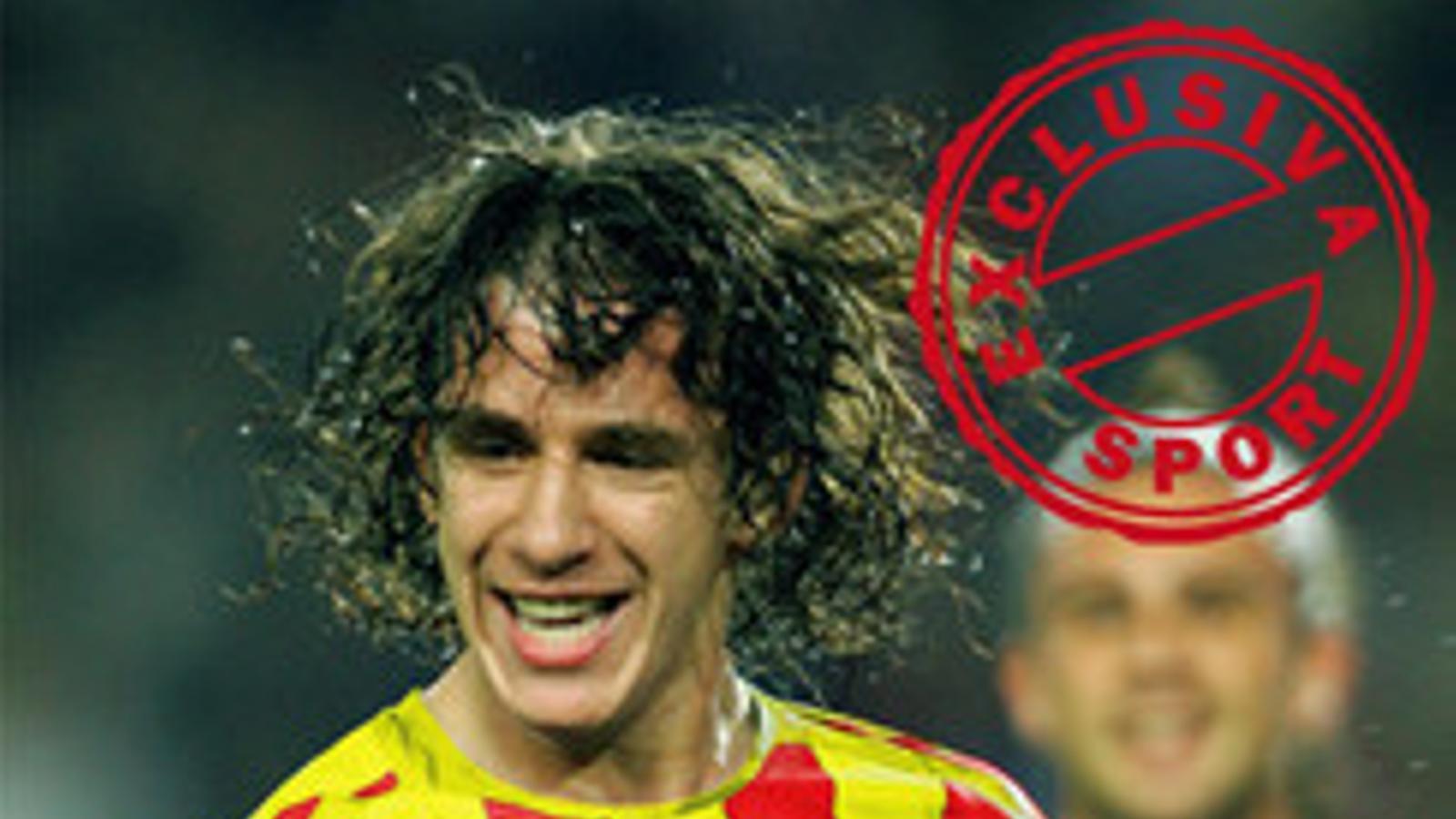 Fotomuntatge de l''Sport' amb la samarreta del Barça amb la senyera