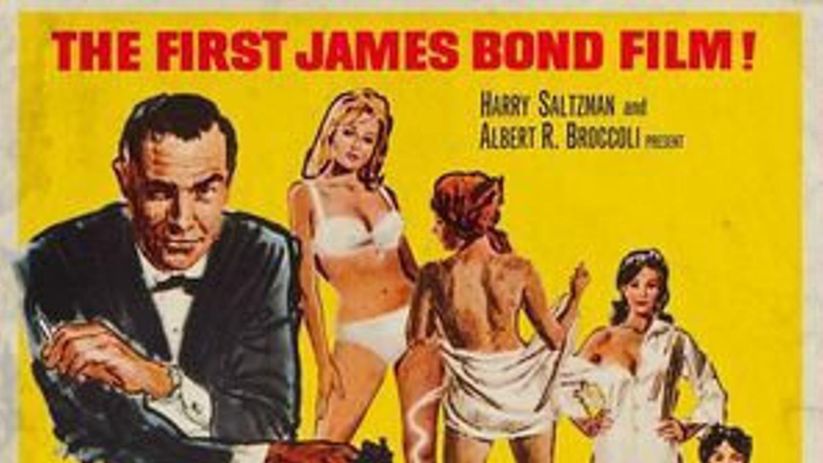 El cartell original de la pel·lícula Agent 007 contra el Dr. No.