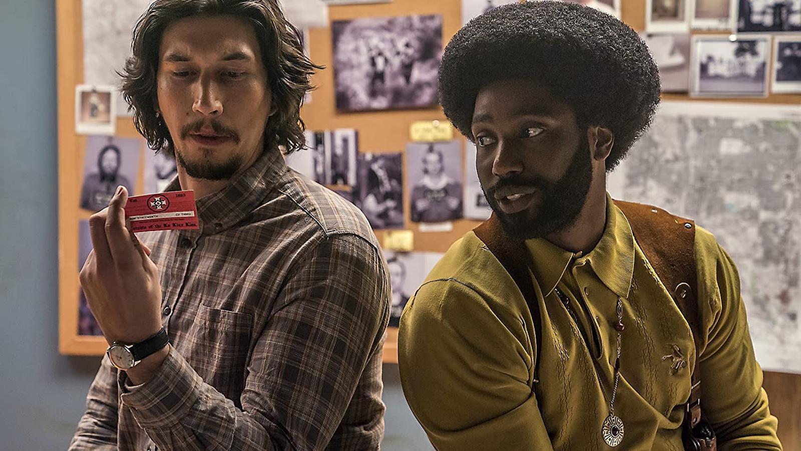 Fotograma de la pel·lícula Infiltrado en el KKKlan, dirigida per Spike Lee.
