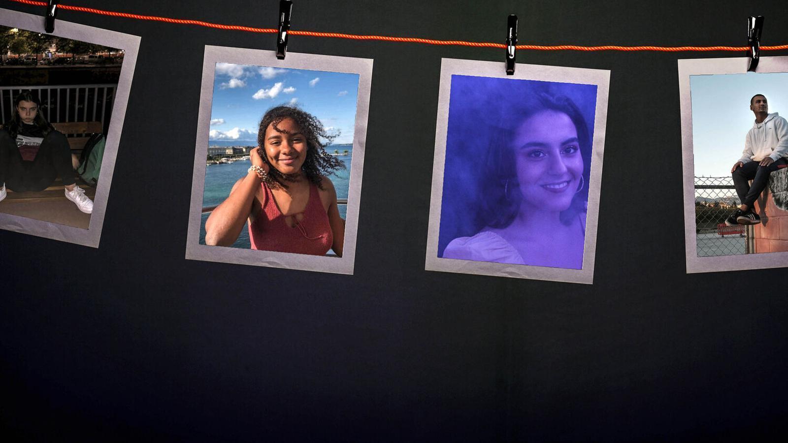 Imatges dels seus comptes d'Instagram d'alguns dels joves que participen al reportatge del nostre dossier / ARA
