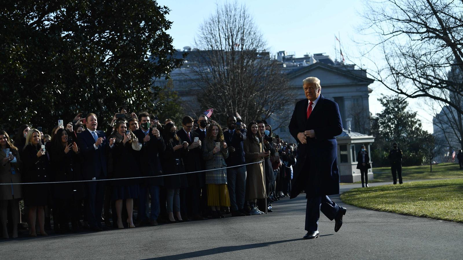 El president del EUA Donald Trump