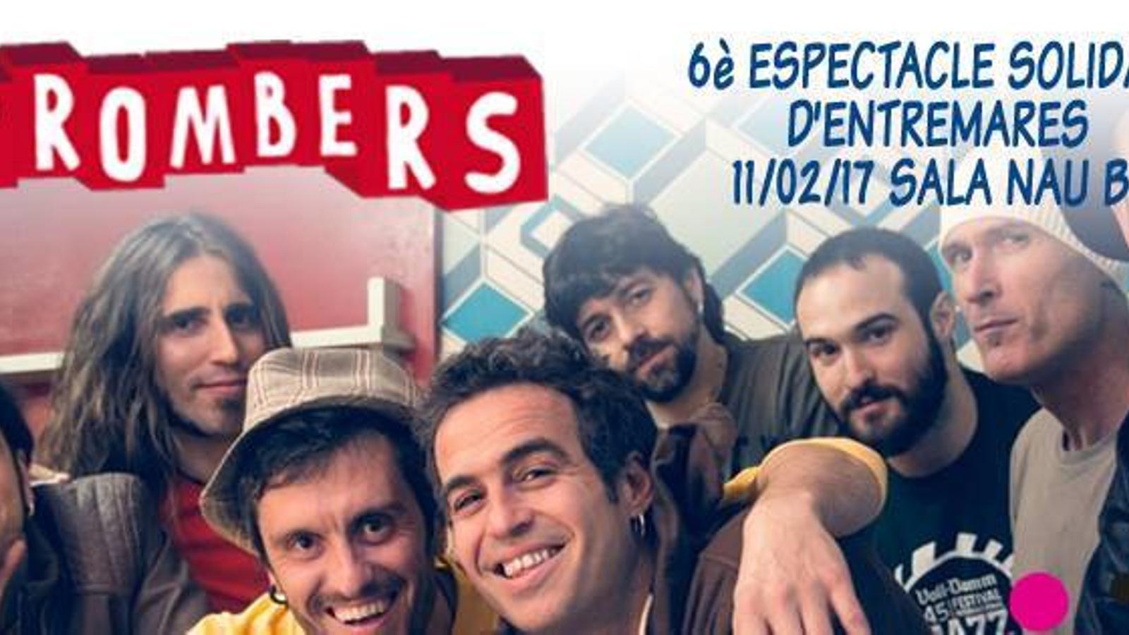 Entre Mares presenta el sisè concert solidari amb Strombers
