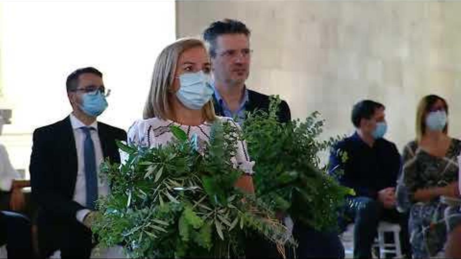 Vídeo de l'acte institucional víctimes del coronavirus