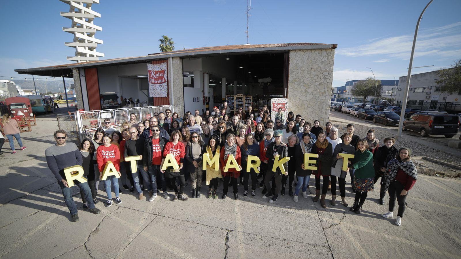 Els participants a la desena edició de Rata Market.