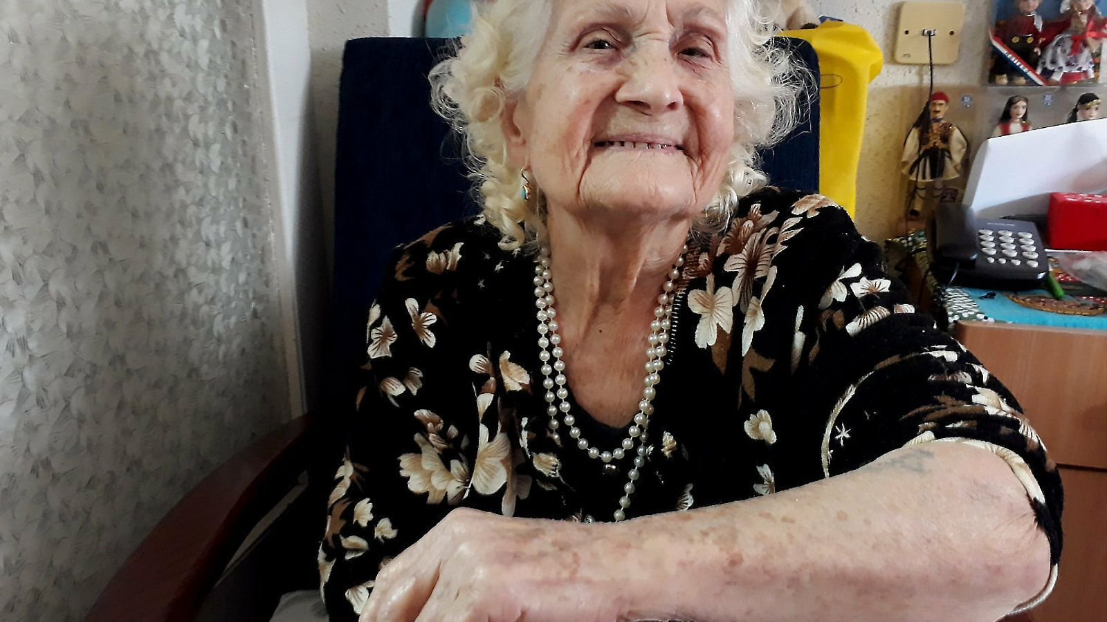 """Luna Montechio: """"Als ancians i als infants els portaven directament als forns crematoris"""""""