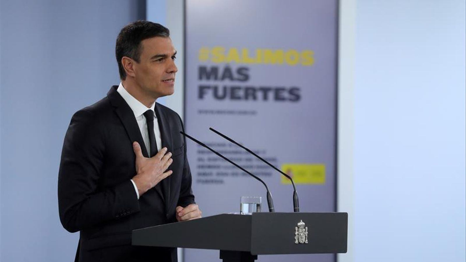 Pedro Sánchez aquest migdia