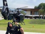 Neymar tuneja el seu helicòpter amb estètica de 'Batman'