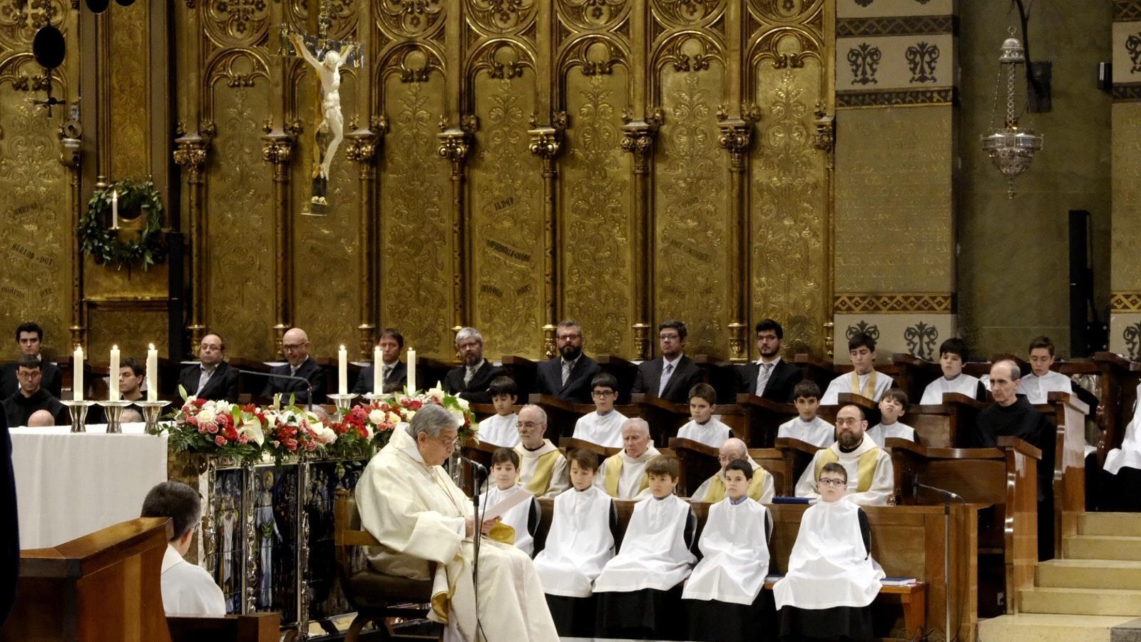 El pare abat de Montserrat demana perdó pels casos d'abusos sexuals al monestir