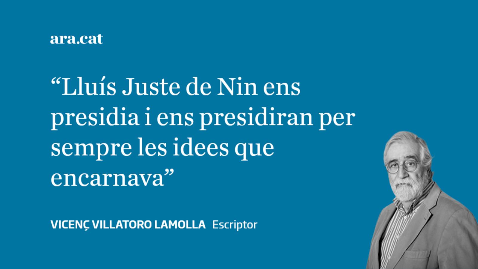 22/5: Lluís Juste de Nin