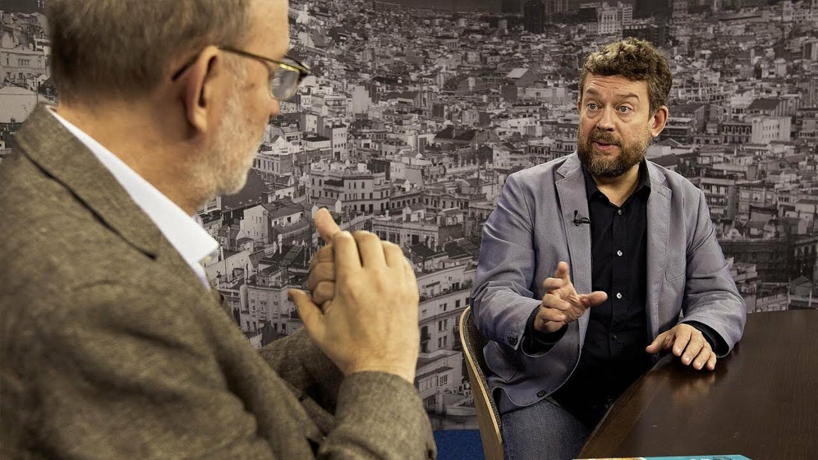 Entrevista d'Antoni Bassas a Francesc-Marc Álvaro