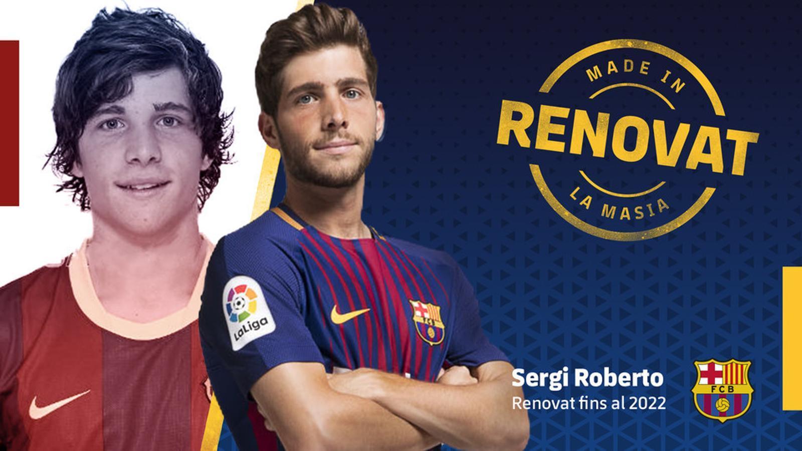 Sergi Roberto a signé son nouveau contrat