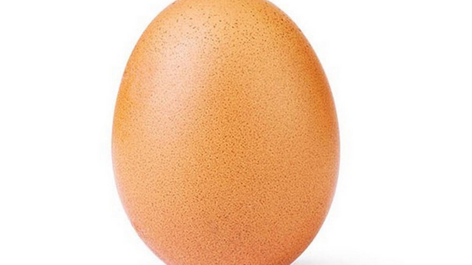 Una foto d'un ou bat tots els rècords de 'likes' a Instagram