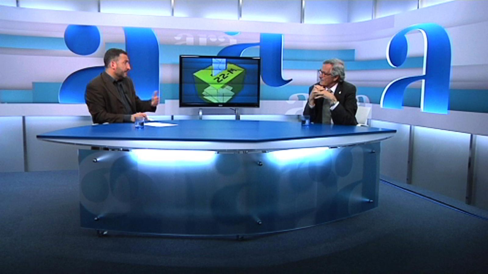 Toni Soler entrevista Xavier Trias