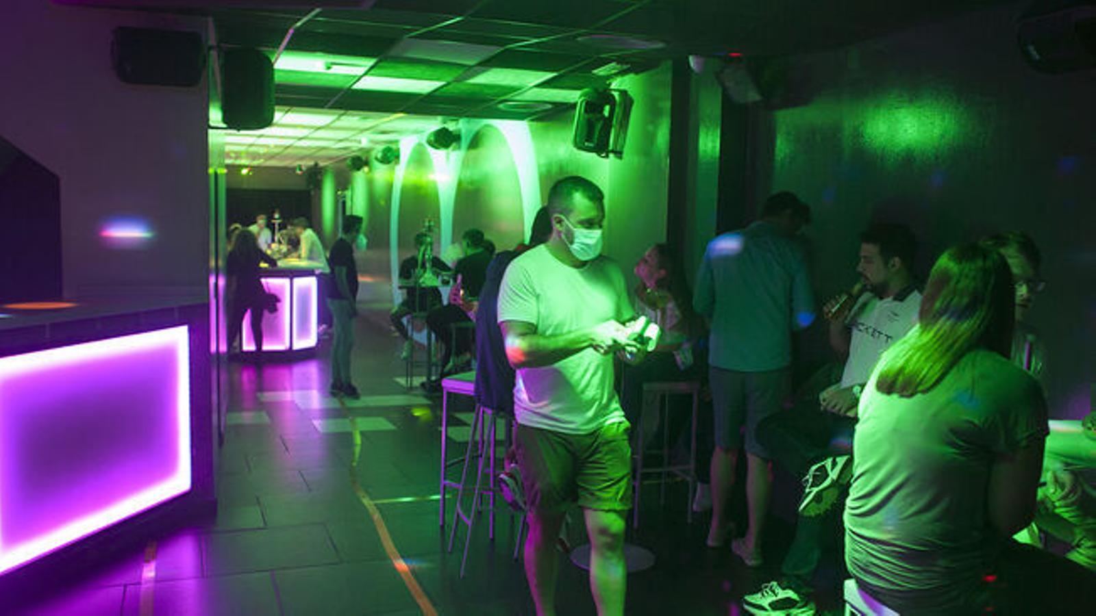 Imatge d'arxiu de l'interior d'una discoteca.