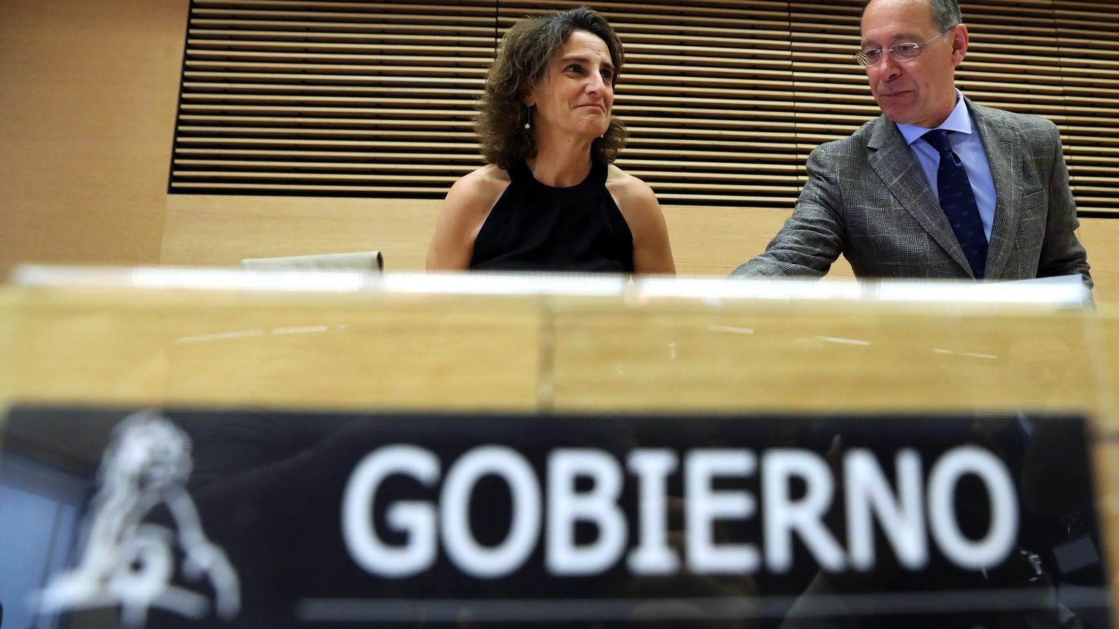 La ministra de Transició Ecològica, Teresa Ribera.