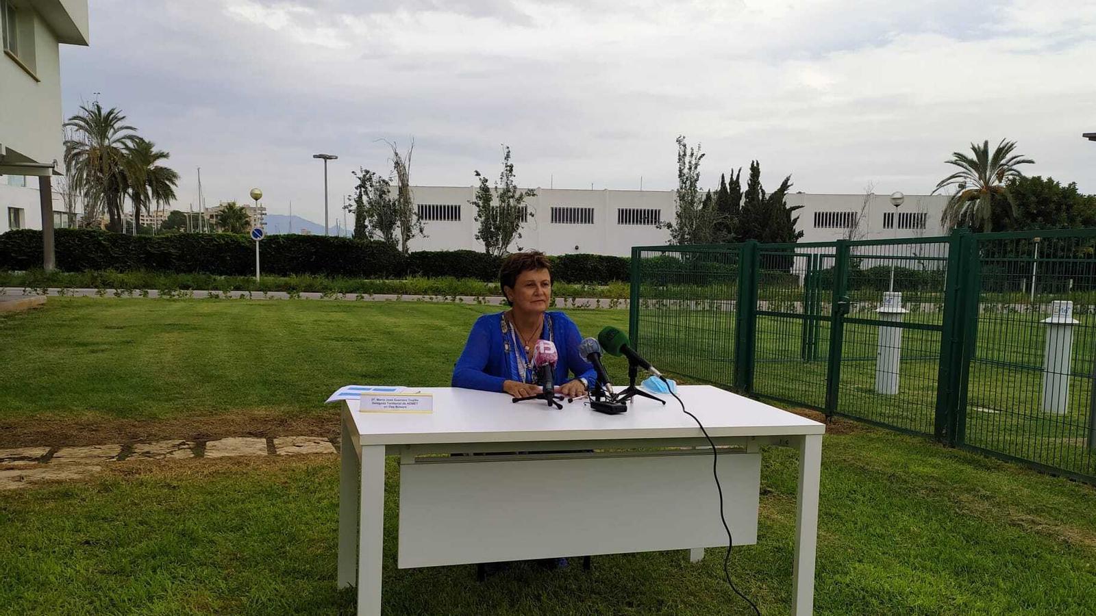 María José Guerrero Trujillo, delegada territorial de l'AEMET a les Illes Balears./ T.R.