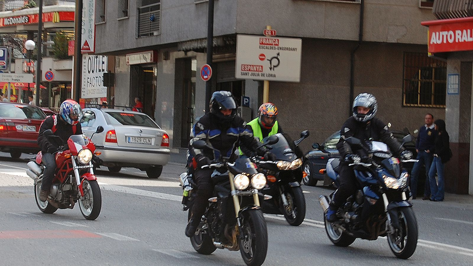 La policia multa 126 motoristes en dues setmanes