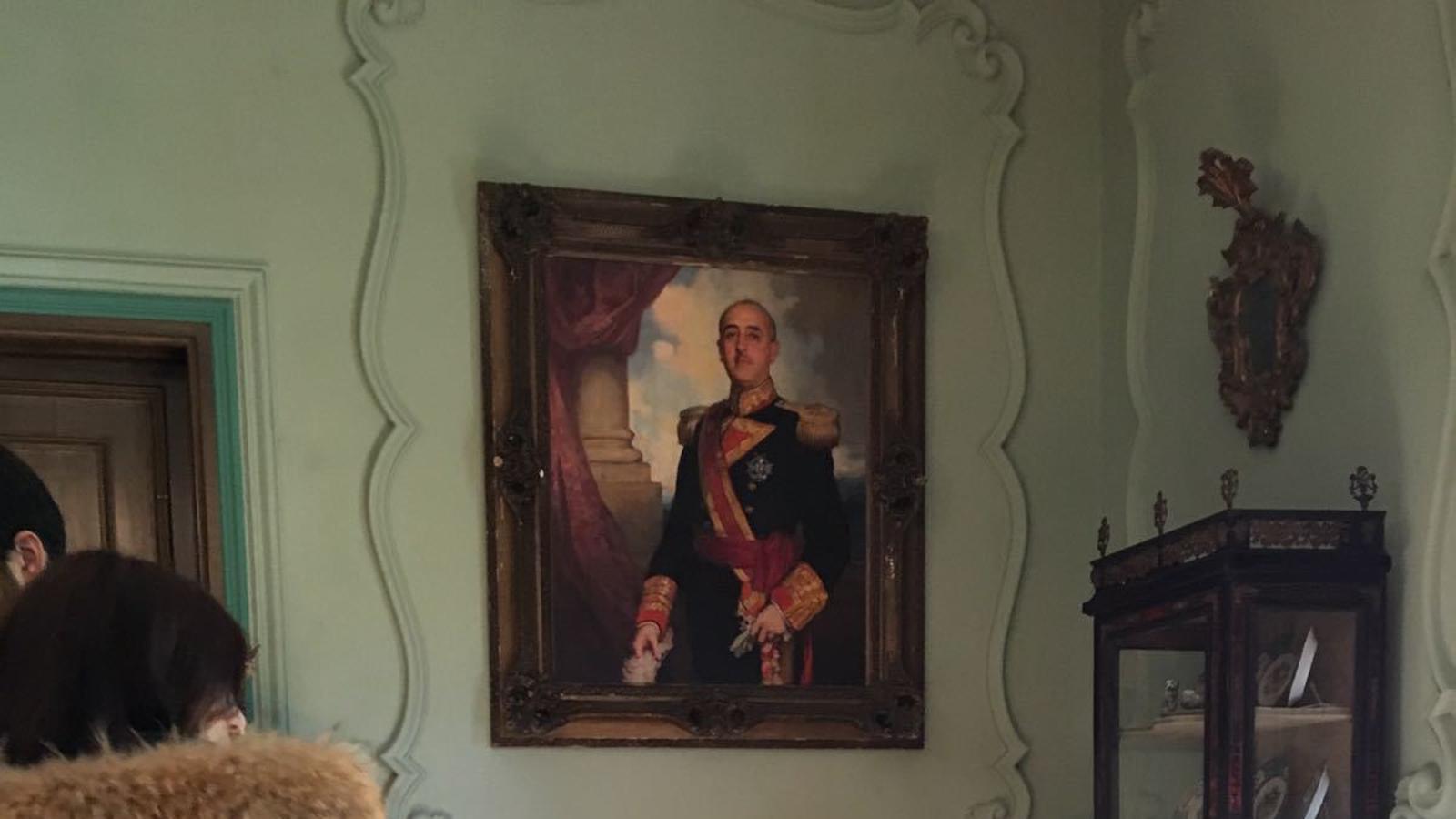 L'ego de Franco viu desfermat al Pazo de Meirás
