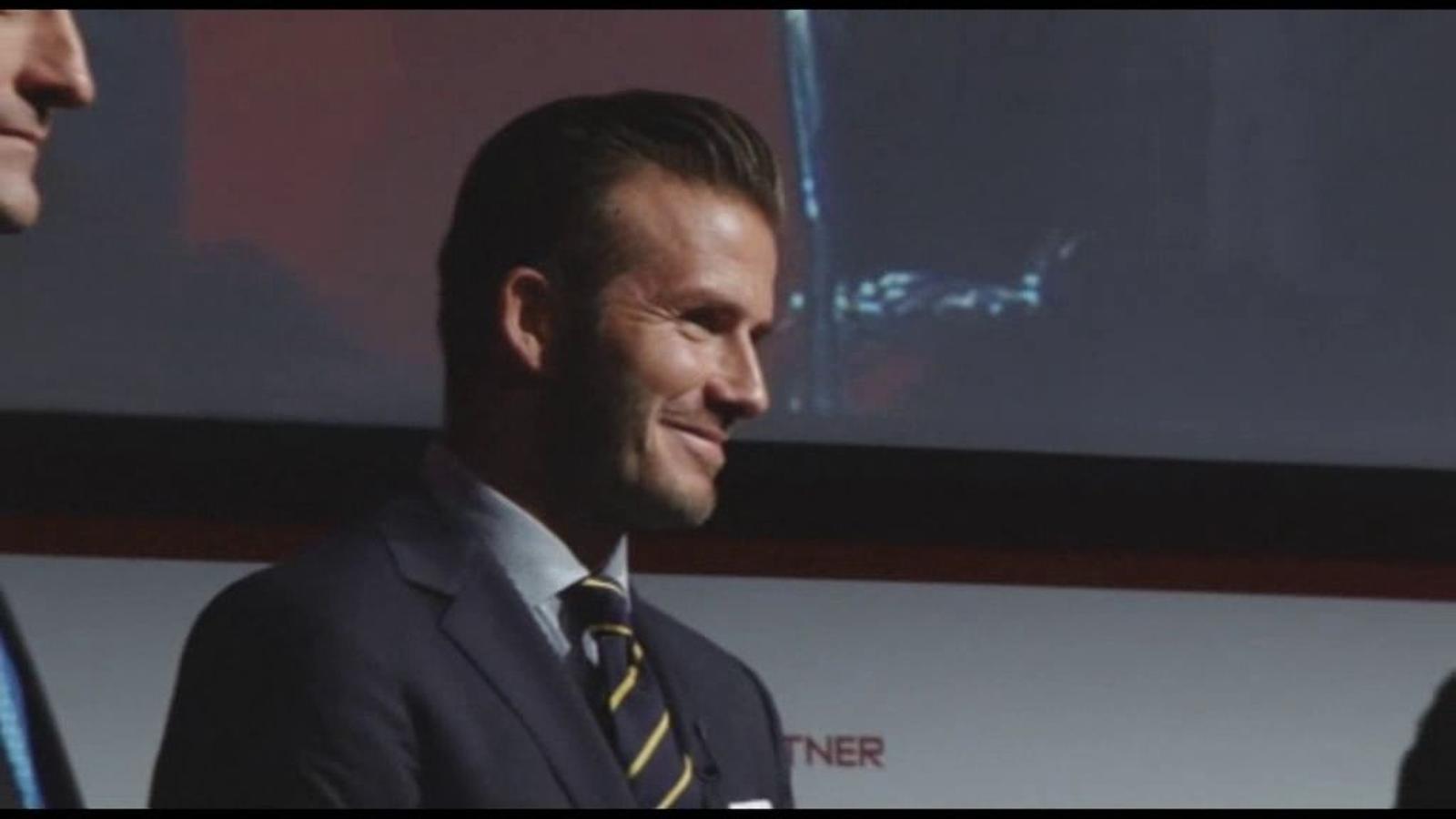 Beckham participarà en la inauguració dels Jocs però no revela quin serà el seu paper