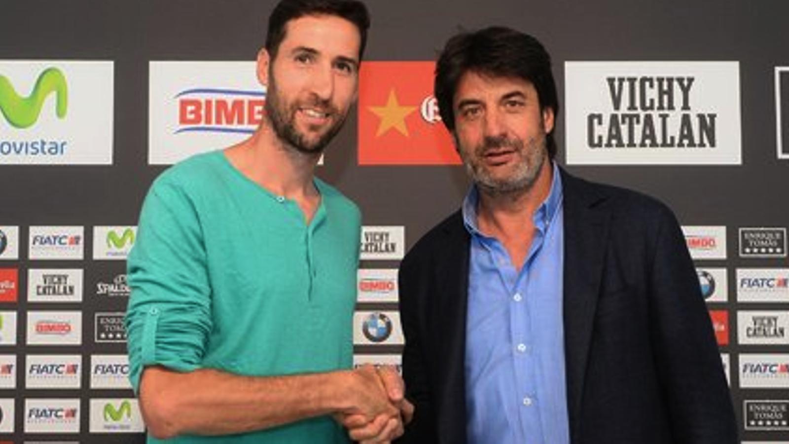 Sergi Vidal renova amb la Penya
