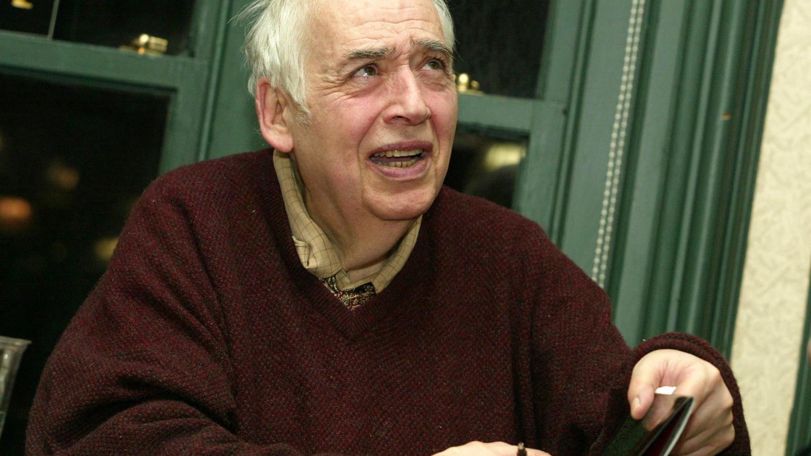 Mor el crític literari Harold Bloom als 89 anys