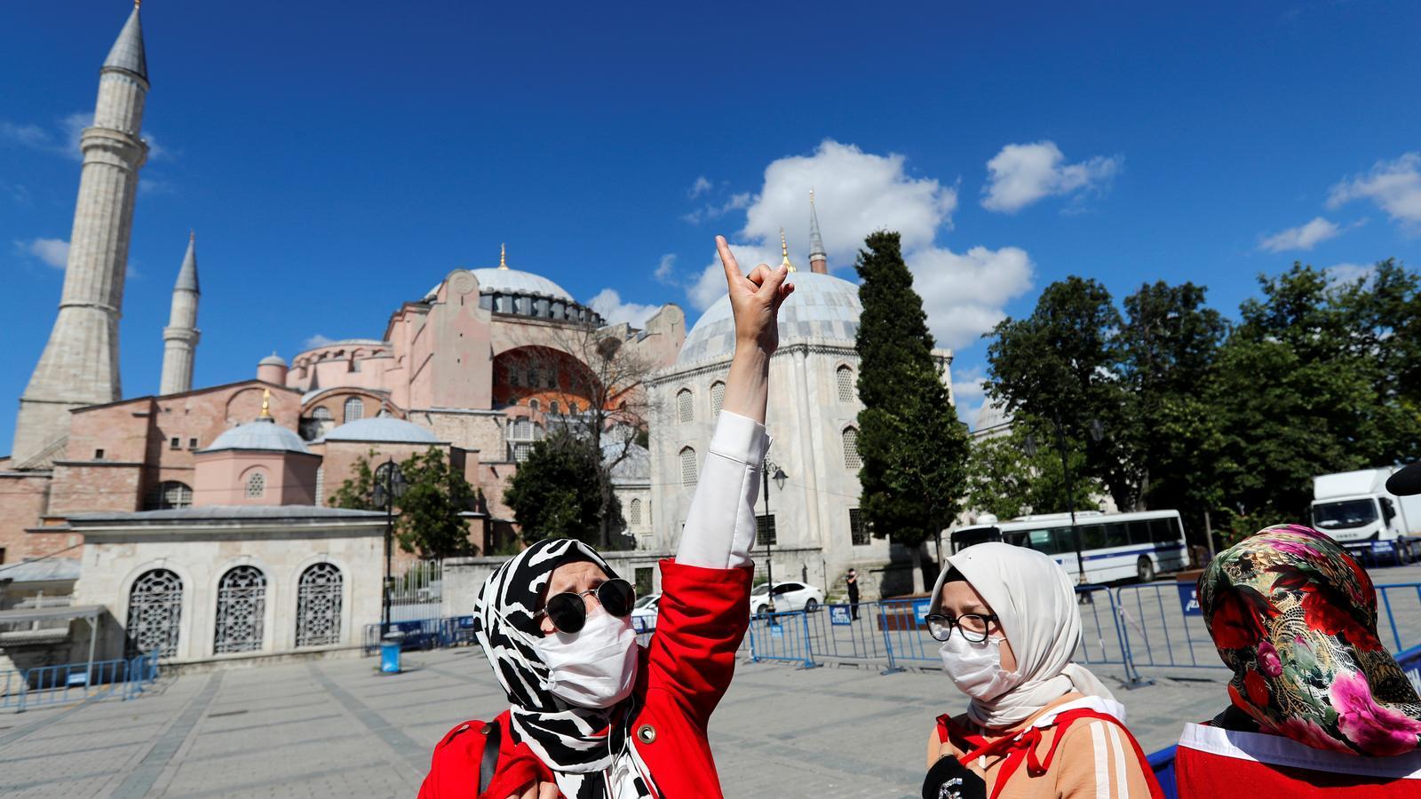 Turquia torna a l'era dels sultans amb la mesquita de Santa Sofia