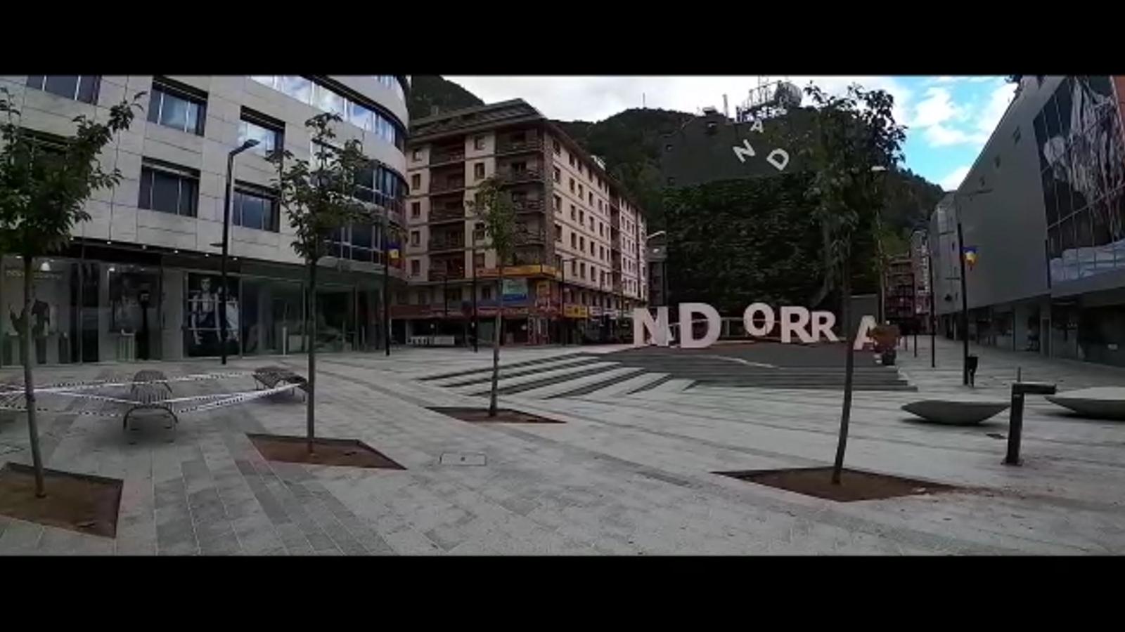 El vídeo viral a Espanya sobre els carrers d'Andorra