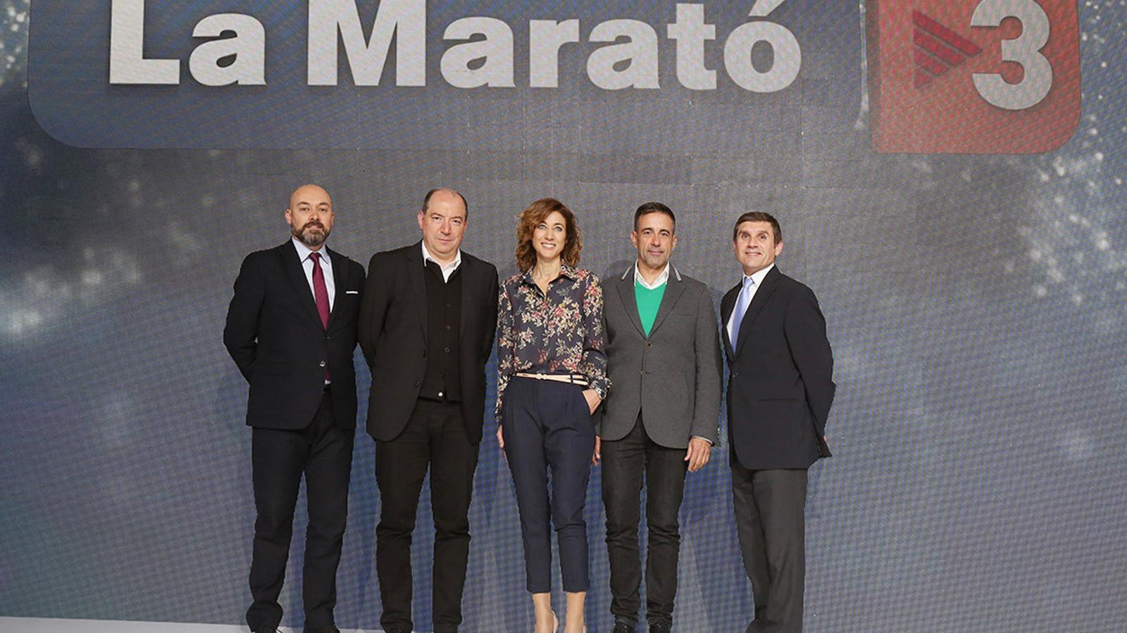 'La Marató' opta per renovar-se i sortir fora del plató