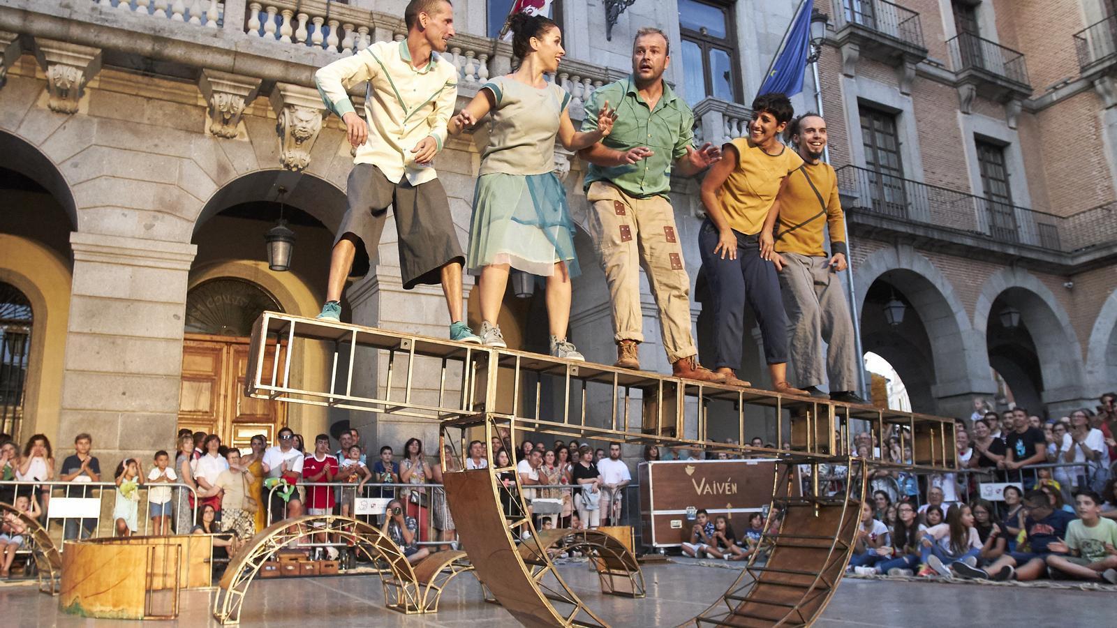 Una imatge de la companyia Vaivén Circo.