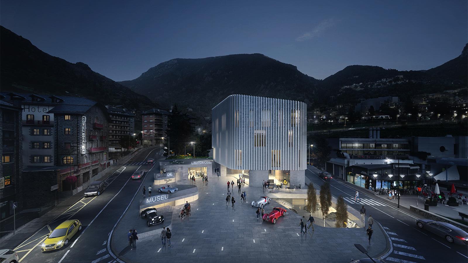 El projecte guanyador del concurs. / Arteks-Ginjaume Arquitectura