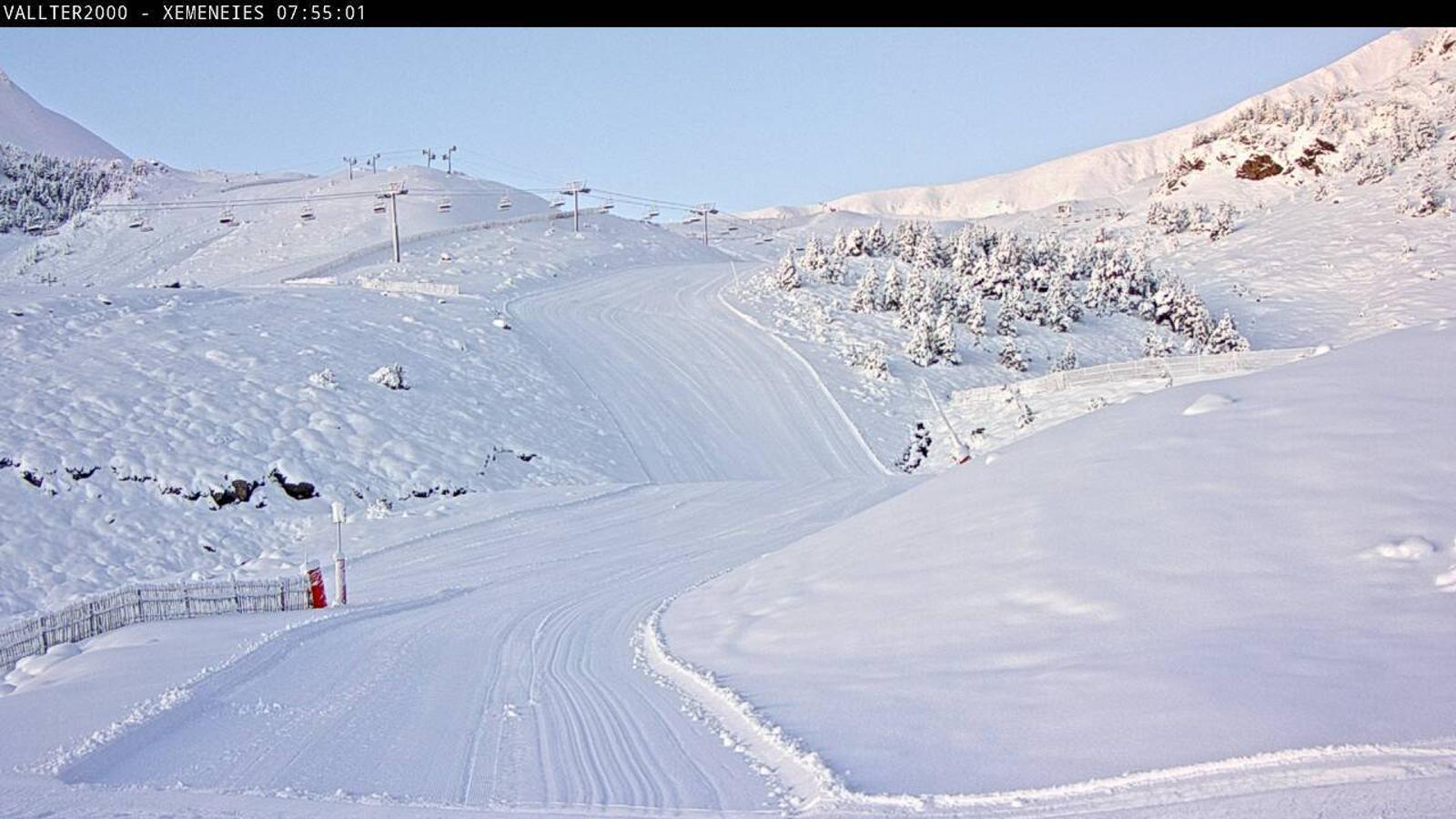 Nevada de fins a 45 cm de neu recent a Vallter