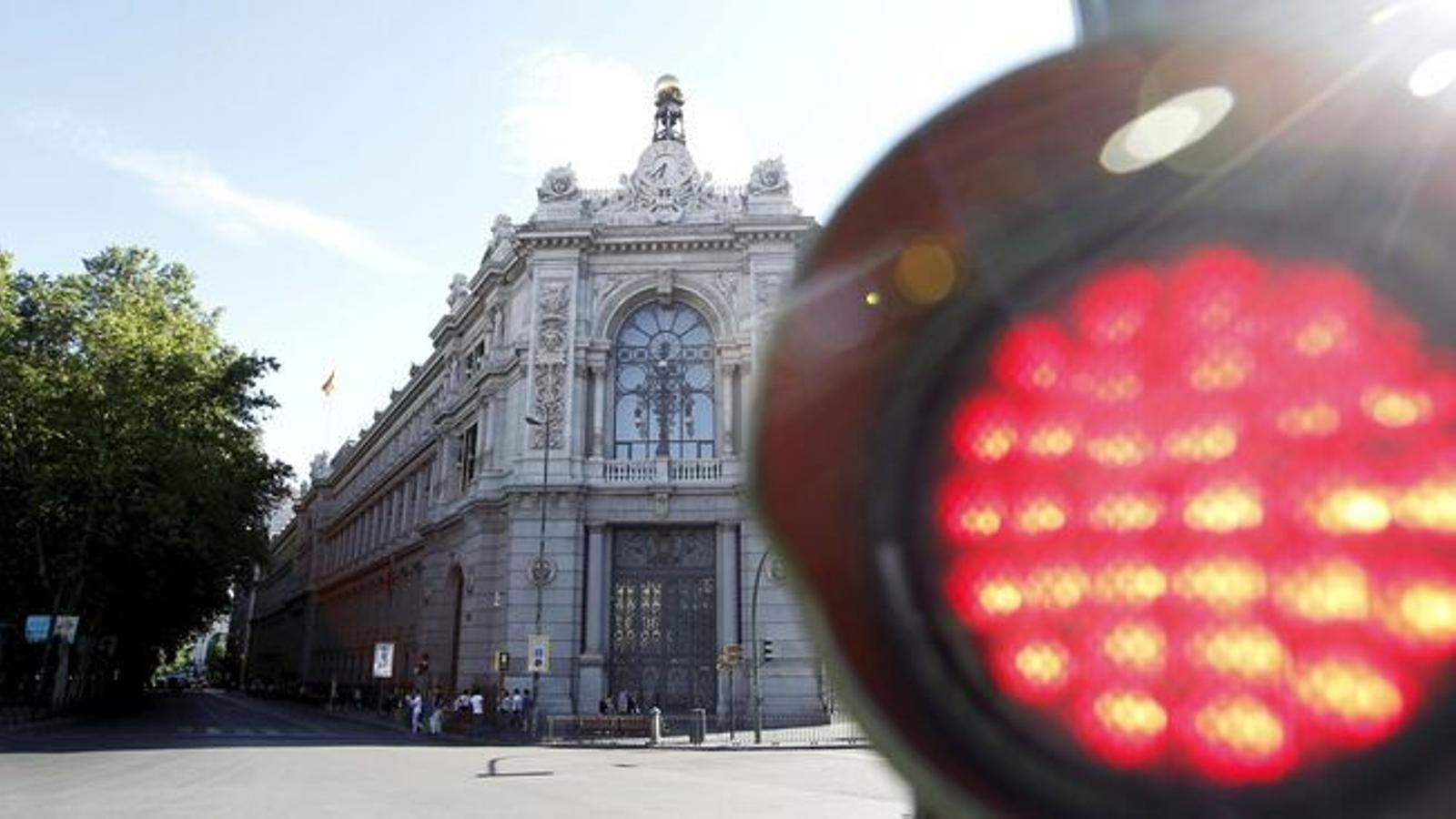 El Banc d'Espanya en una imatge d'arxiu.