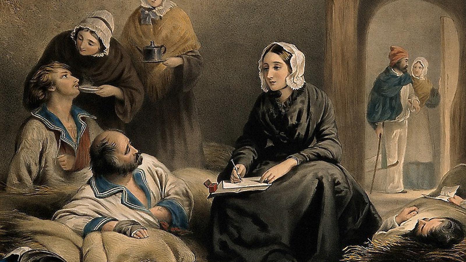 Florence Nightingale, molt més que una infermera abnegada