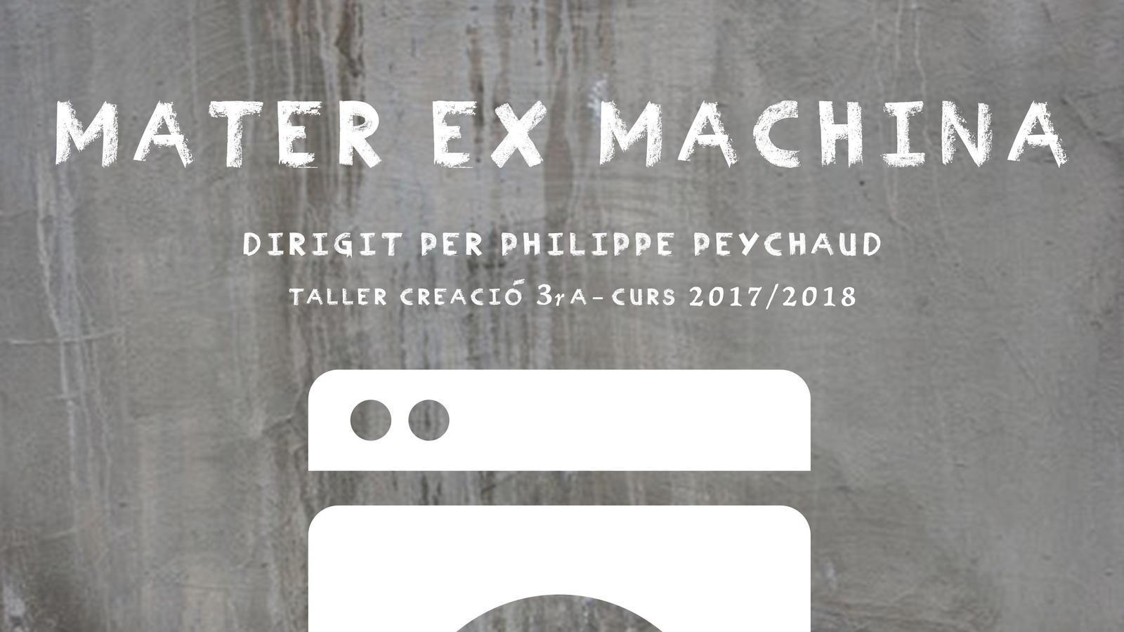 Cartell de 'Mater ex machina' de l'ESADIB.