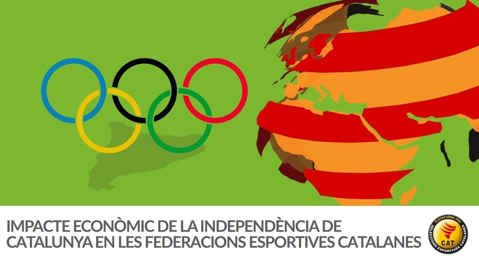 Impacte econòmic de la independència en les federacions esportives catalanes