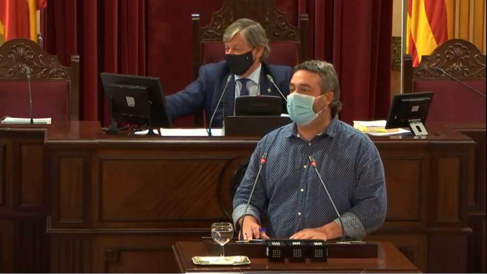 El diputat de MÉS per Mallorca, Joan Mas 'Collet'