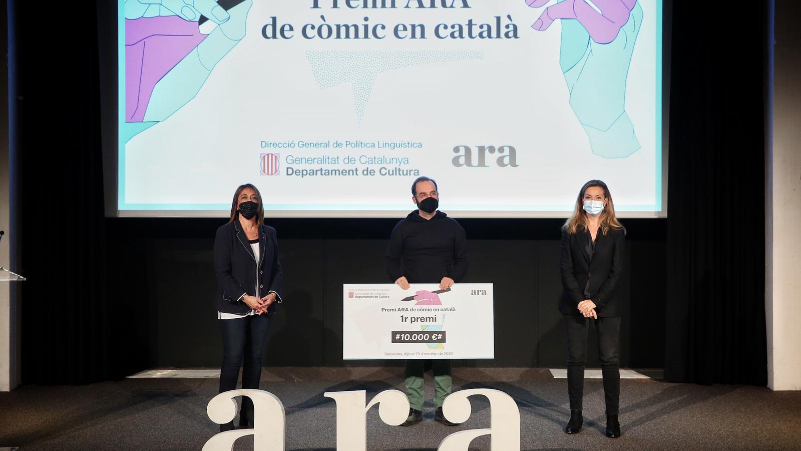 Pep Brocal guanya el Premi ARA de còmic en català