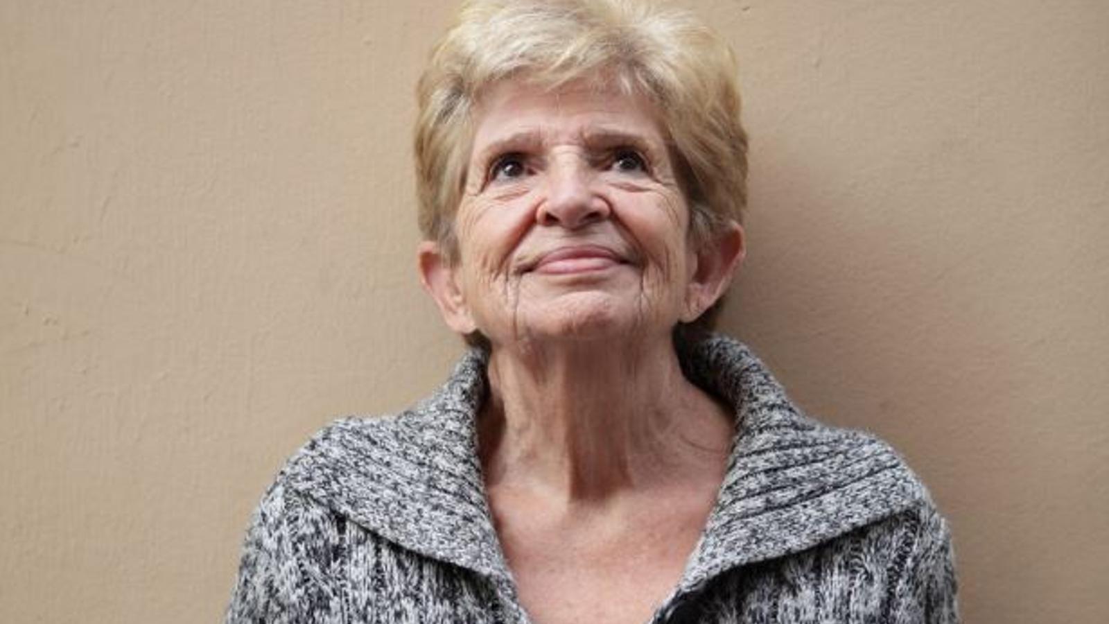 L'actriu i dobladora Carme Contreras, en una imatge d'arxiu