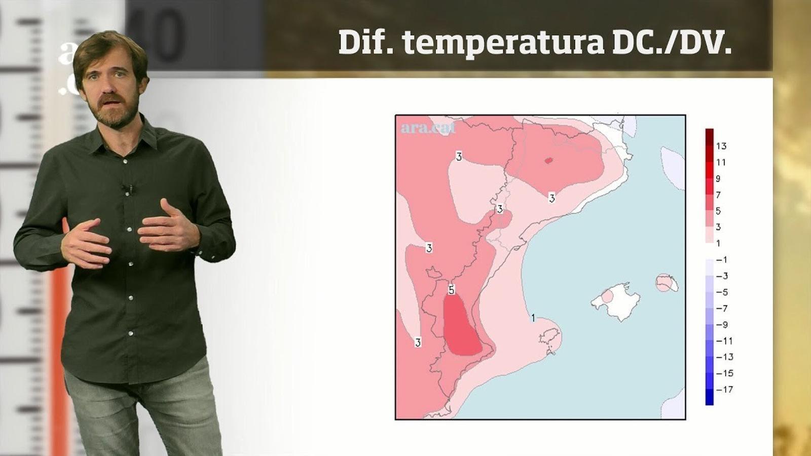 La méteo en 1 minut: migdies càlids a l'espera de més pluges
