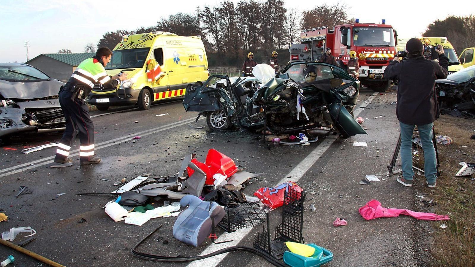 Càstigs més durs per als responsables d'accidents de trànsit