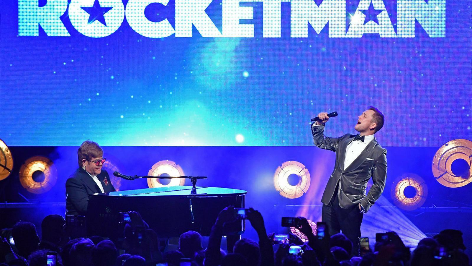 Festival de Canes: Elton John conquereix la Croisette amb 'Rocketman'