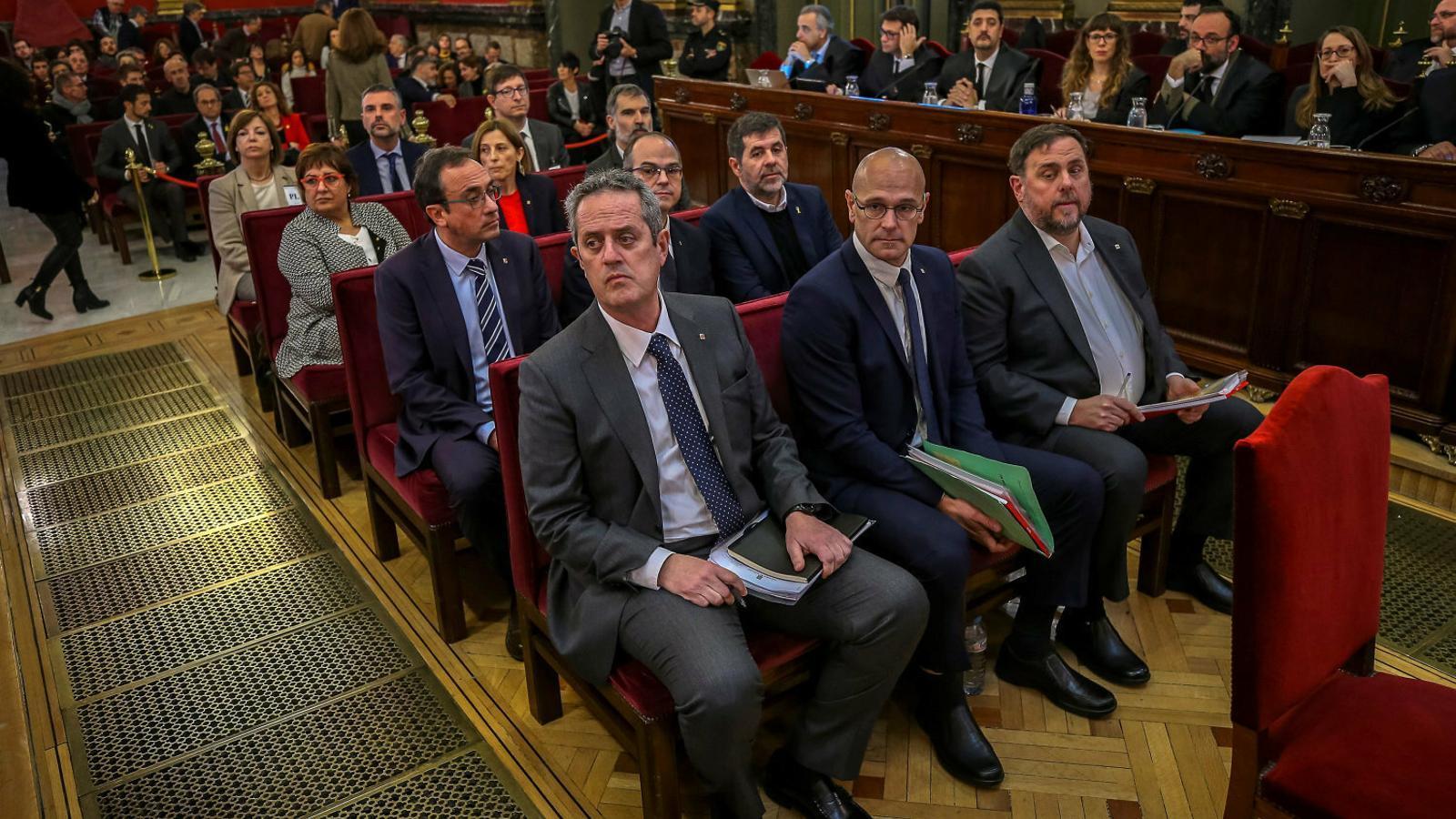 El sobiranisme s'endinsa en el debat de l'amnistia dels presos