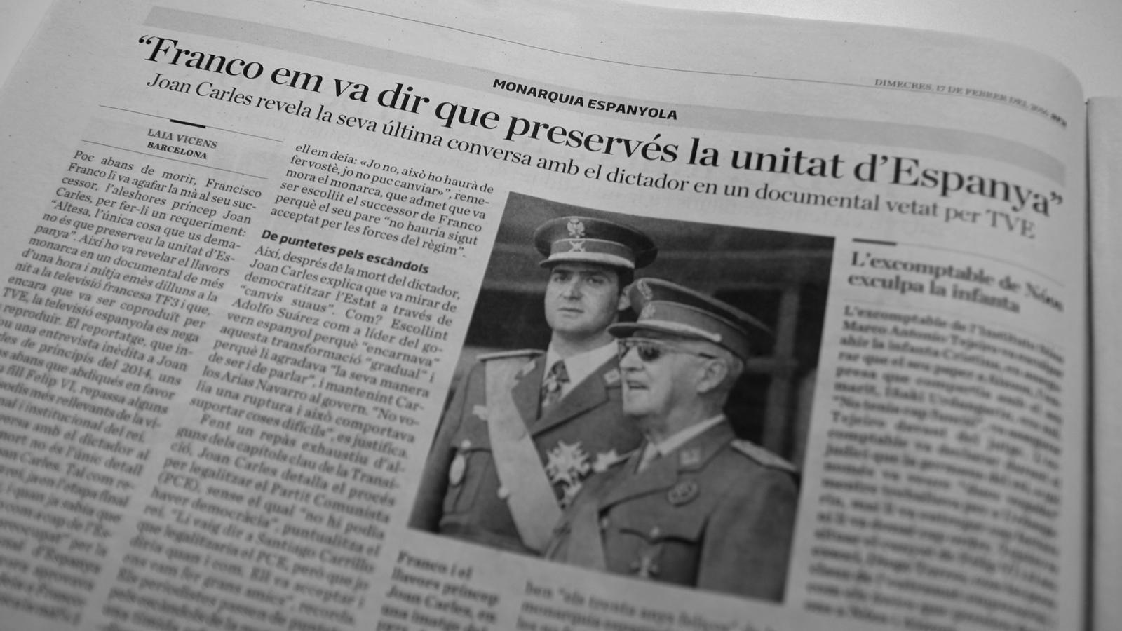 """L'editorial d'Antoni Bassas: """"Practicar la transició"""""""