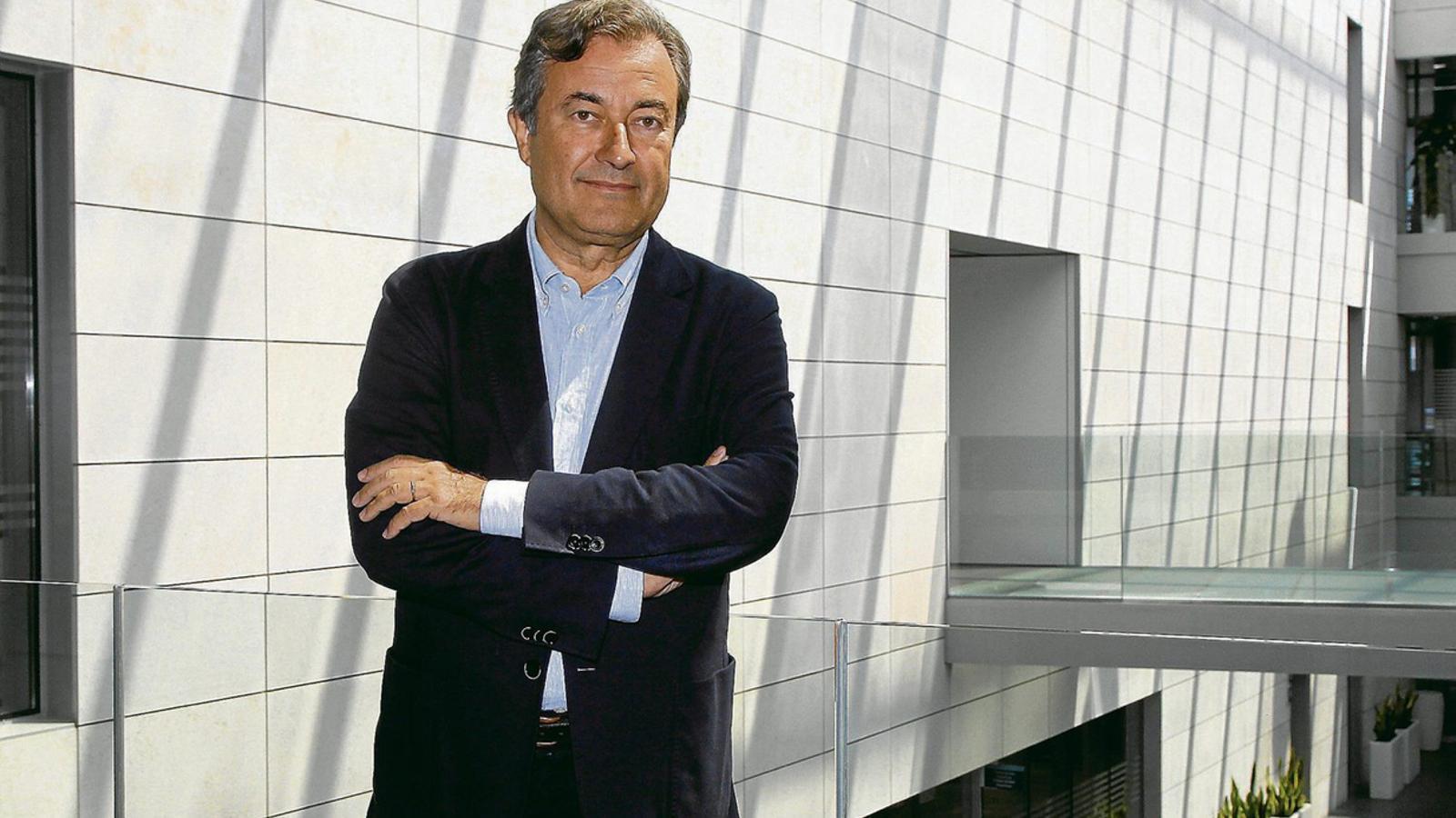 L'encara president de l'Autoritat Portuària de Balears, Joan Gual de Torrella