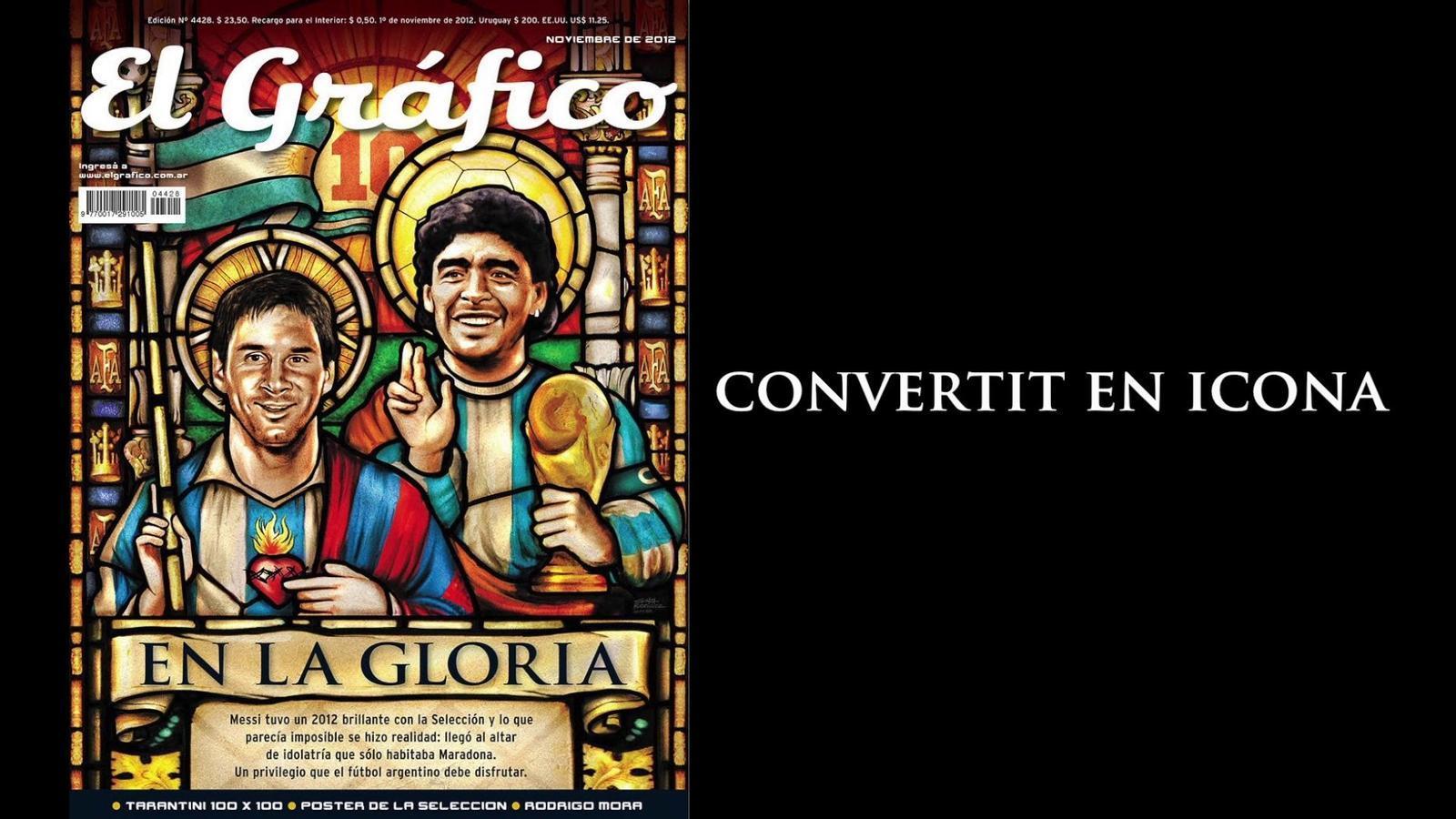 Messi, convertit en icona