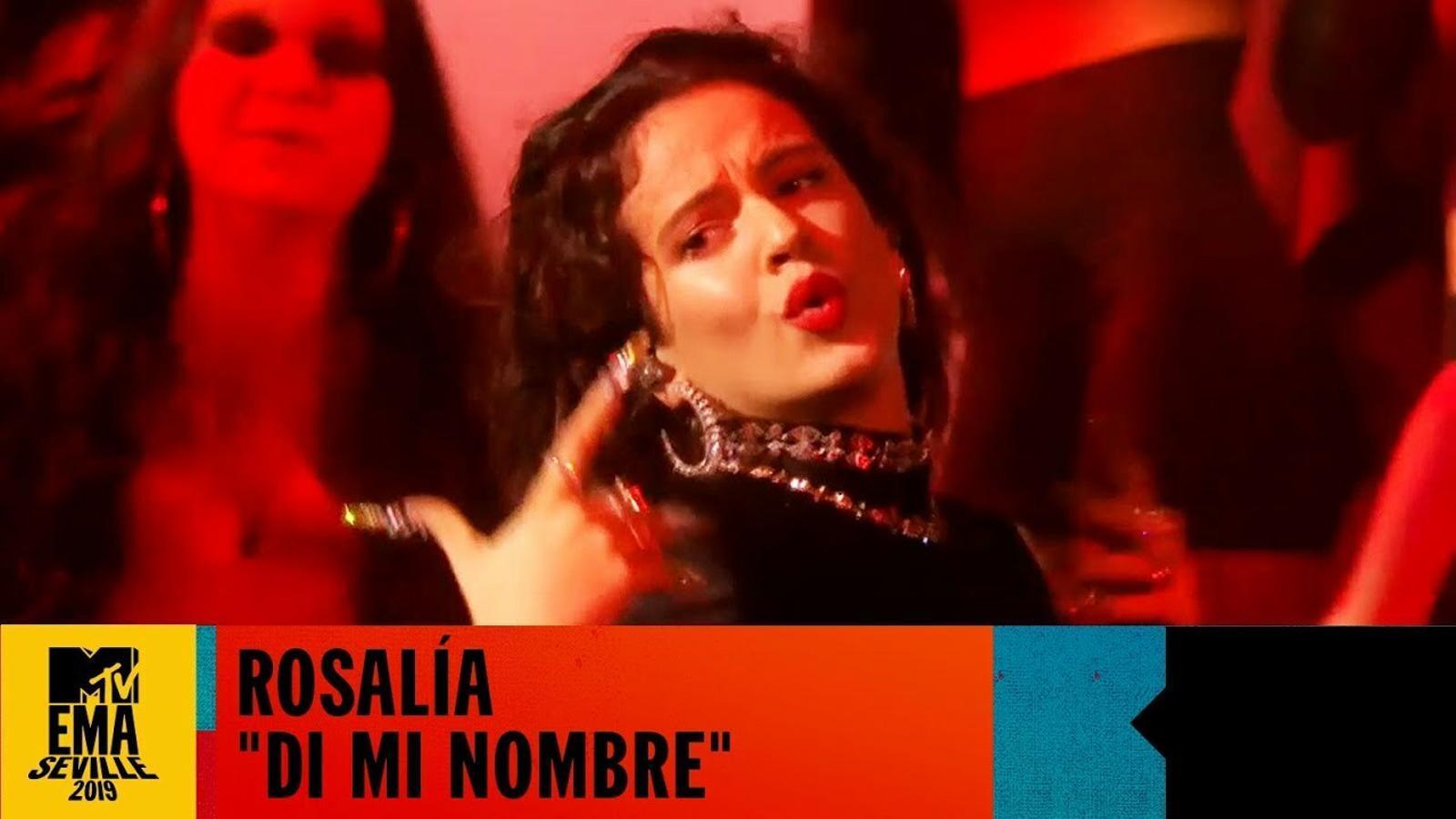 'Di mi nombre':  Rosalía als European Music Awards