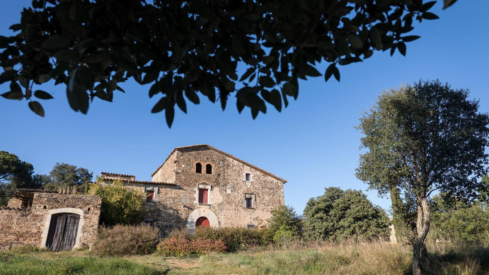Imatge del mas on vivia la dona, situat a Estanyol, un nucli urbà de Bescanó
