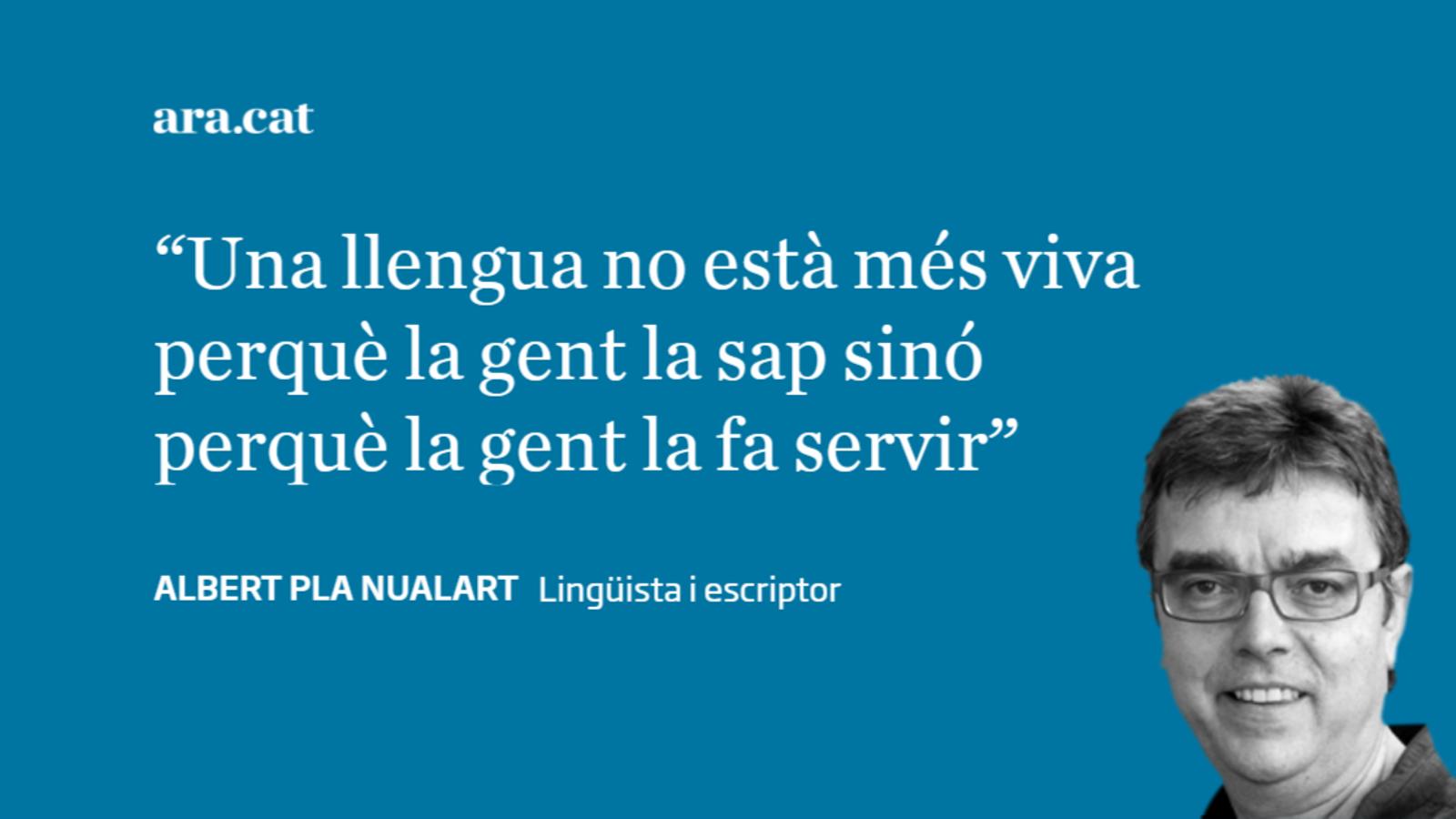 'Fake news' sobre la salut del català (i 2)