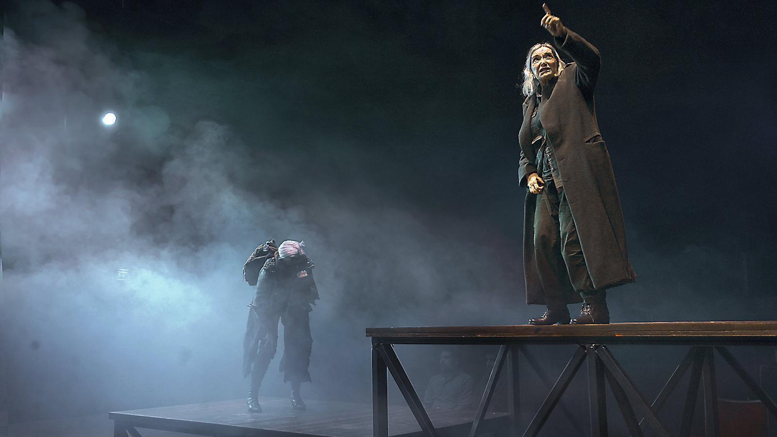 El més gran dels herois shakesperians va ser interpretat el 2015 per Núria Espert en un muntatge de Lluís Pasqual per al Teatre Lliure que va rebre nombrosos reconeixements.